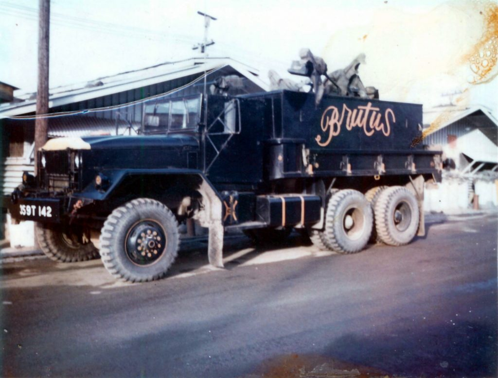 Brutus Parked  by Barricks